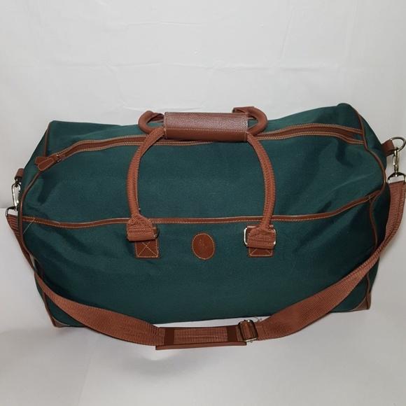 049f92876b4c Vintage Ralph Lauren Polo Overnight Duffle Gym Bag.  M 5b7870995c4452fafda8c3b5